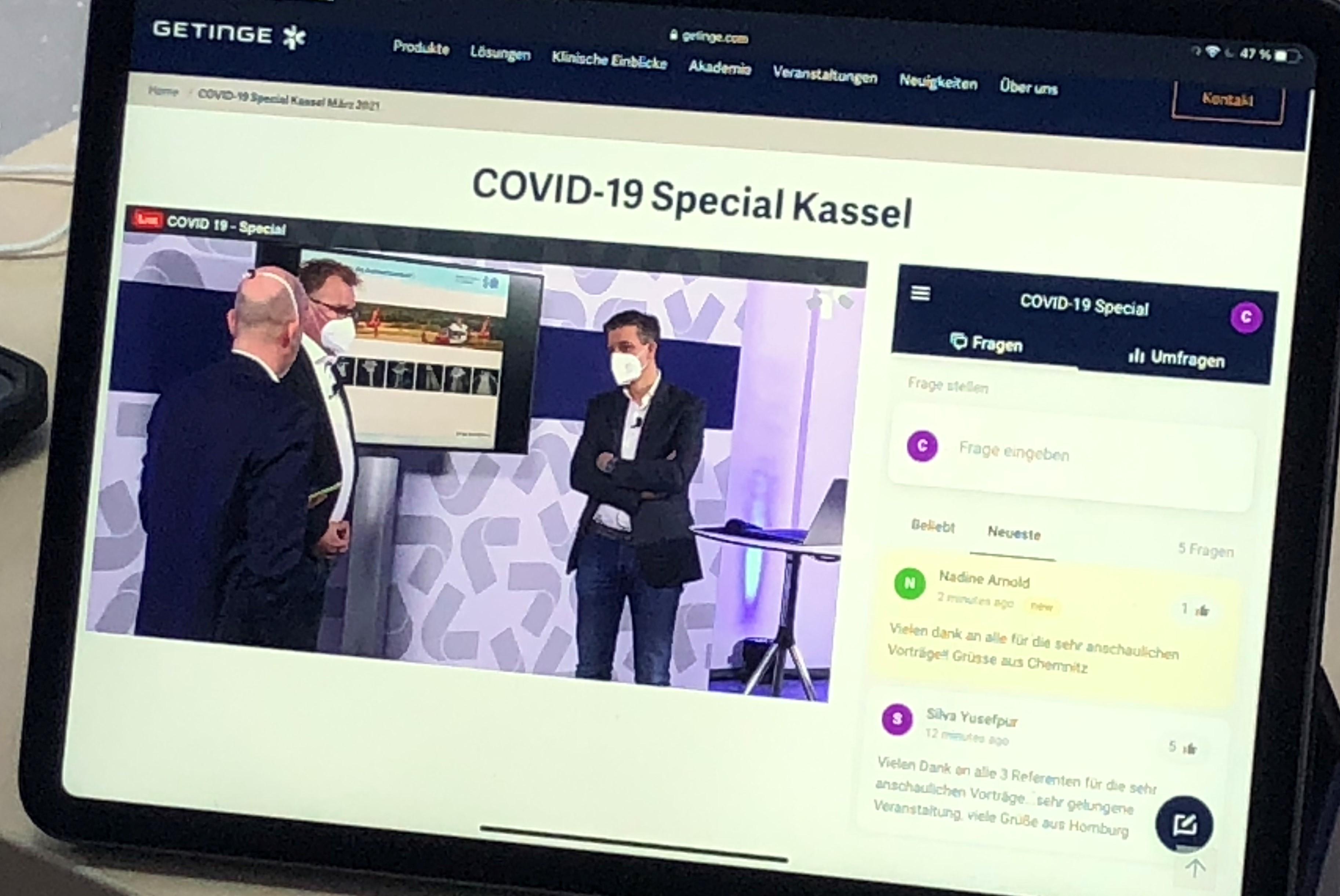 COVID-19 Special - Videoaufzeichnung